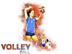 Volley Campagne Affiche 2014 FFVB