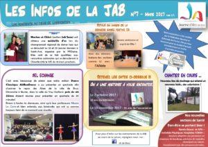 info de la JAB mars 2017