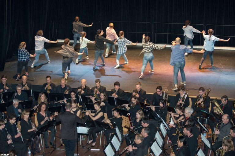 Danseurs et musiciens