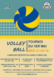 Volley-Ball _ Tournoi du 1er Mai