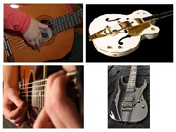 Quatre guitares