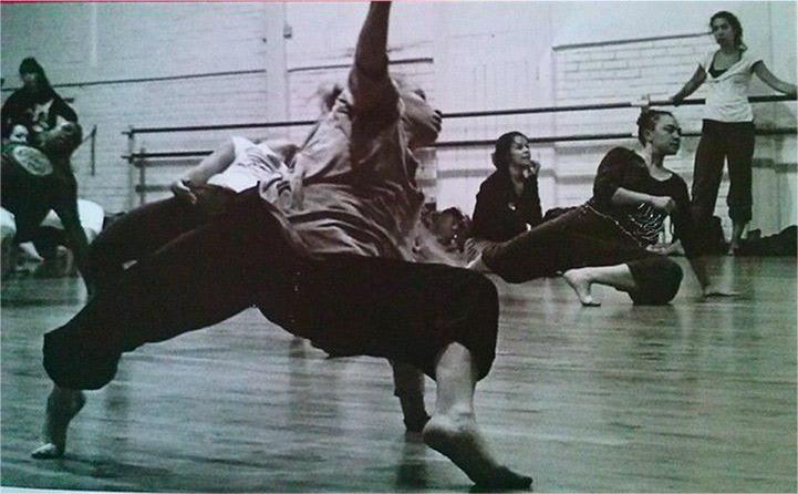 Delphine danse