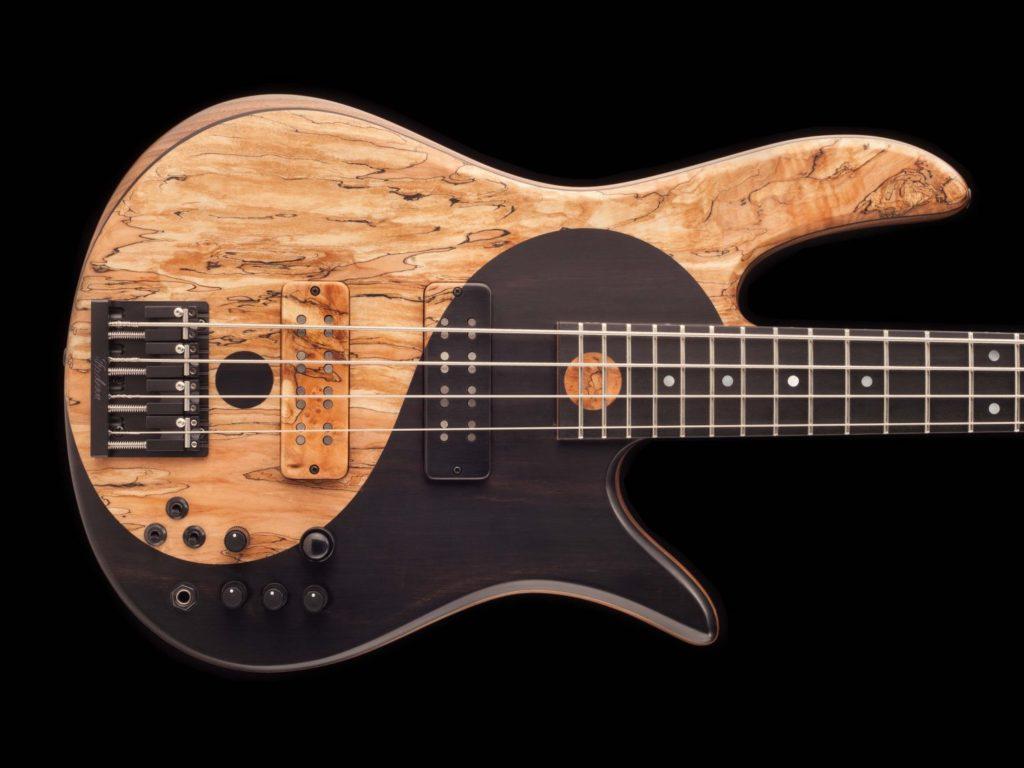 guitare basse électrique feoder
