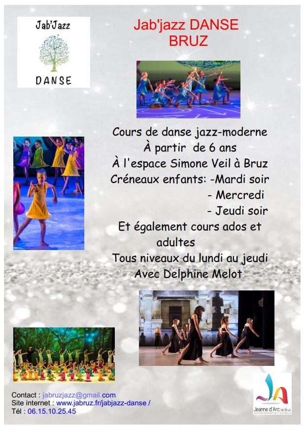 Affiche de JAB'Jazz Danse de la saison 2020 2021