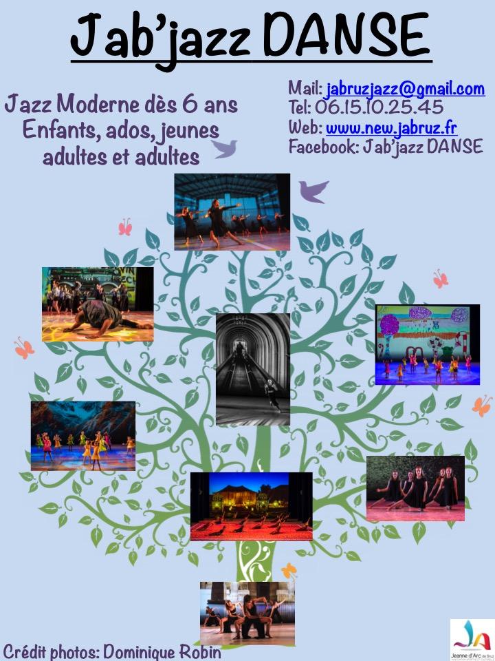 Les inscriptions Jab'jazz DANSE sont ouvertes!!!