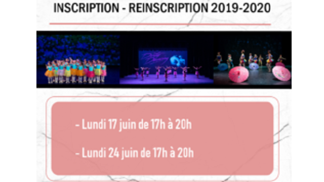 Inscriptions/Réinscriptions – AhBonDanse