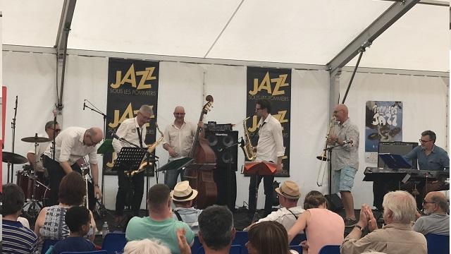 Garage Jazz Band au festival de Jazz sous les Pomm…