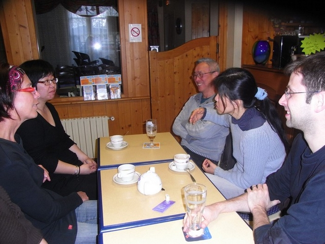Café polyglotte
