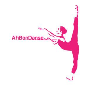 Logo section Ah Bon Danse montrant une danseuse et le nom de la section