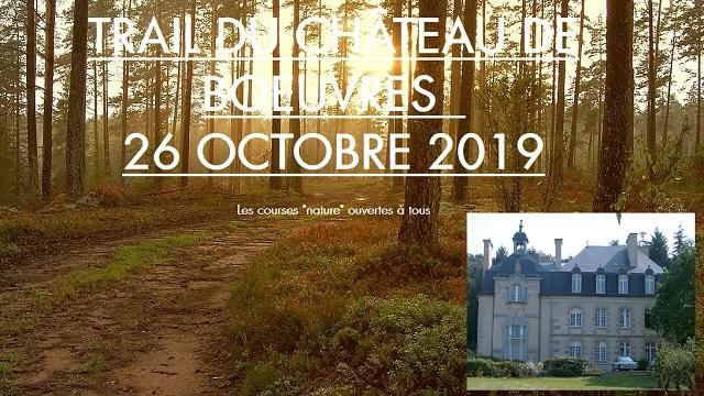 Trail du Château de Boeuvres 2019