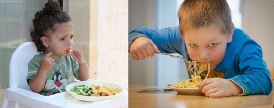 menu adapté aux enfants