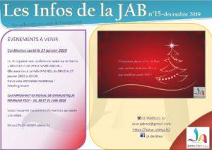 aperçu lettre info JAB décembre 2019