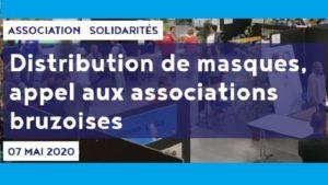 Appel à bénévoles pour distribtution de masques par la commune de Bruz