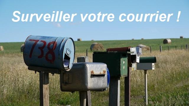 Plusieurs boites aux lettres en rase cammpagne à surveiller !