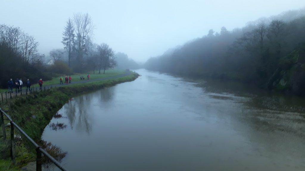 Retour du Pont de Laillé vers le Boël
