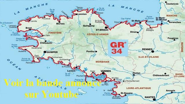 """Projection du film """"La Bretagne par le sentier des…"""